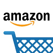amazon logo. concept: food delivery apps
