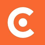 caviar logo. concept: food delivery apps