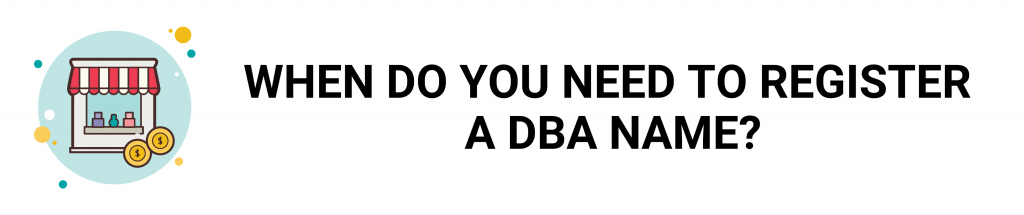 DBA, doing business as