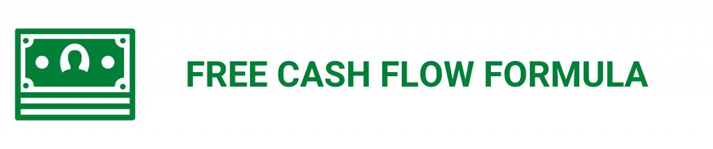 camino financial, free cash flow: formula