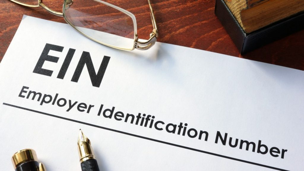 Federal Employer Identification Number (FEIN), also known as an Employer Identification Number (EIN). conept: tax number
