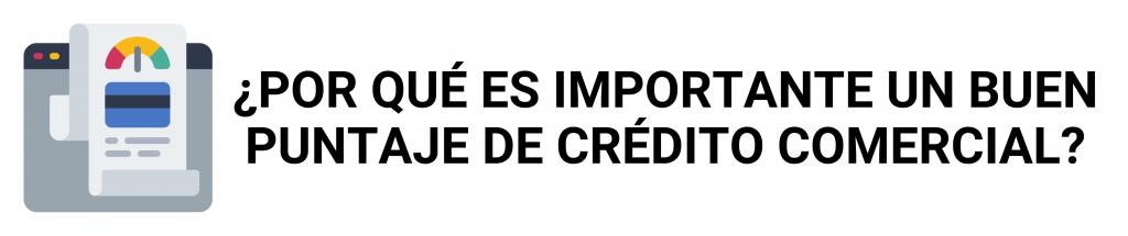 construir crédito comercial