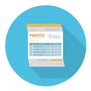profits, concept: grow your business