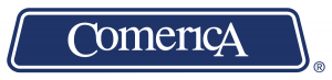 Comerica logo. concept: best banks for small businesses