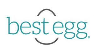 best egg logo. concept: personal loans