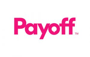 payoff logo. concept: personal loans