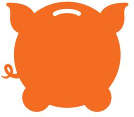 Fattmerchant logo. concept: best credit card processing