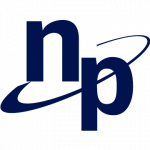 National Processing logo. concept: best credit card processing