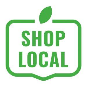 ícono de compra local. Concept: apoya a las pequeñas empresas