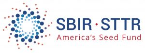 SBIR-STTR logo. concept: small business grants