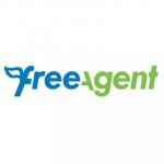 freeagent logo. concept: budget software