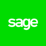 sage logo. concept: budget software