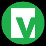 vena logo. concept: budget software