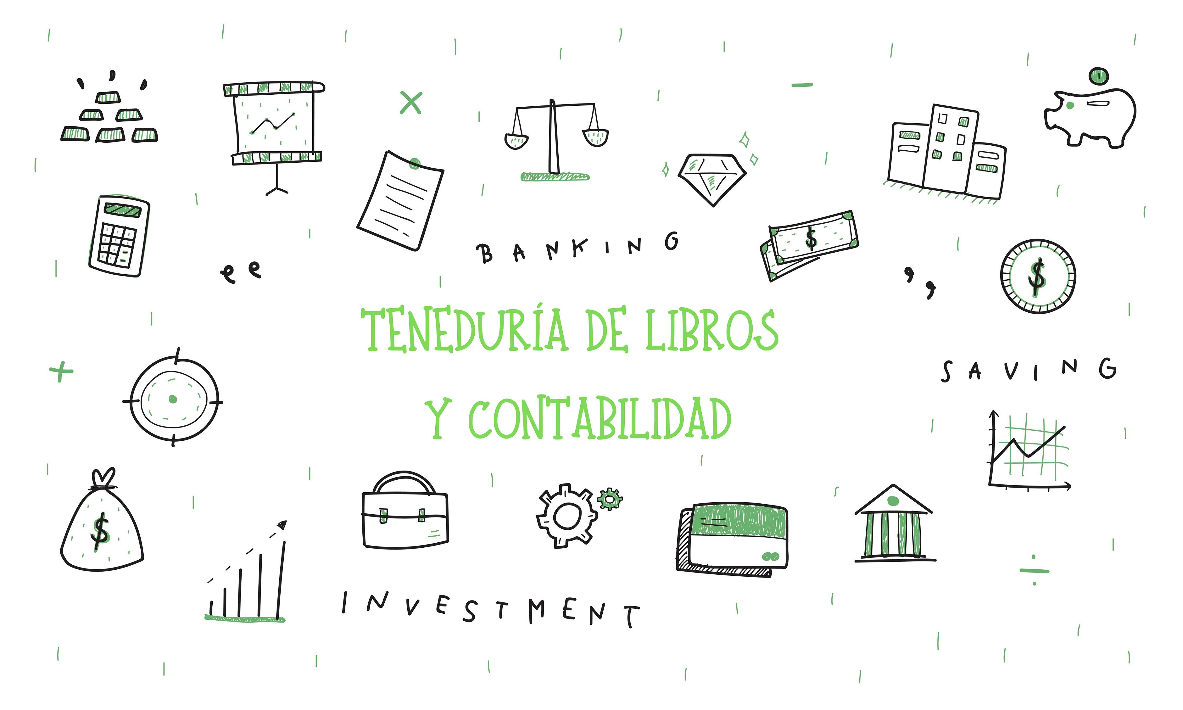 Ilustración de conceptos financieros. Concept: Teneduría de libros y contabilidad. Designed by rawpixel.com / Freepik