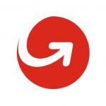 MoneyGram logo, concept: money transfer services