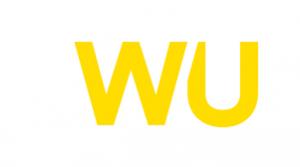 western union logo. concept: money transfer services