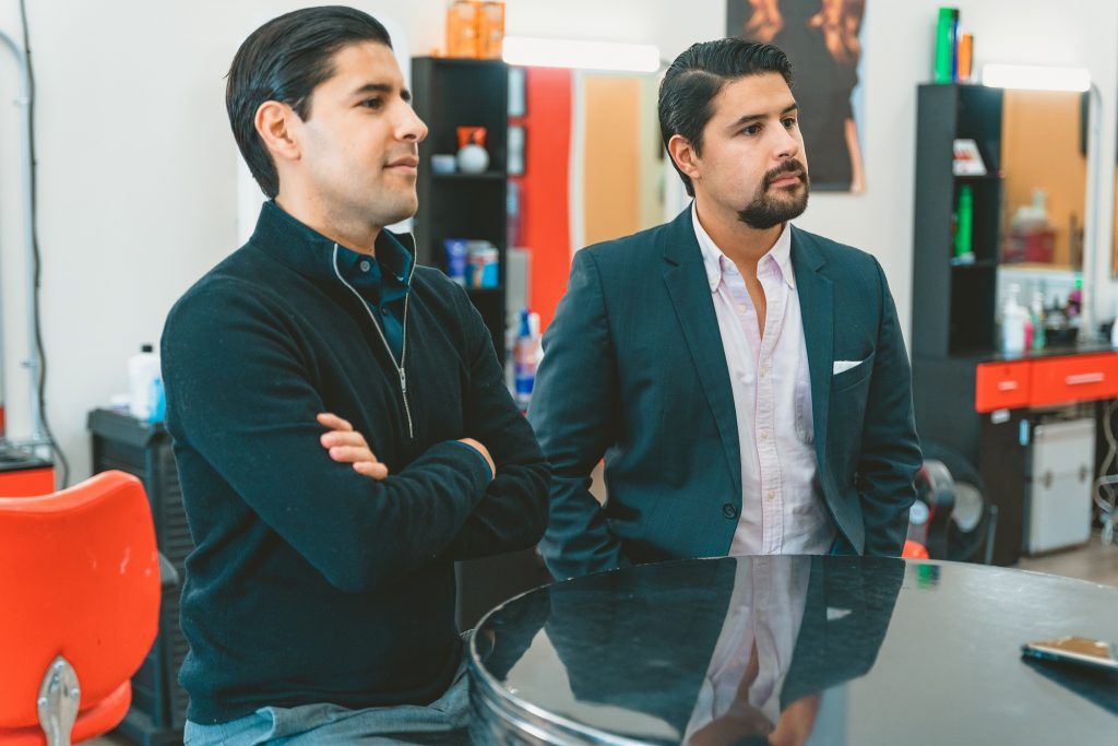Sean and Kenny Salas, Camino Financial, latino entrepreneurs, small business loans for latinos, small busienss loans for immigrants. Concept: start a business as an immigrant