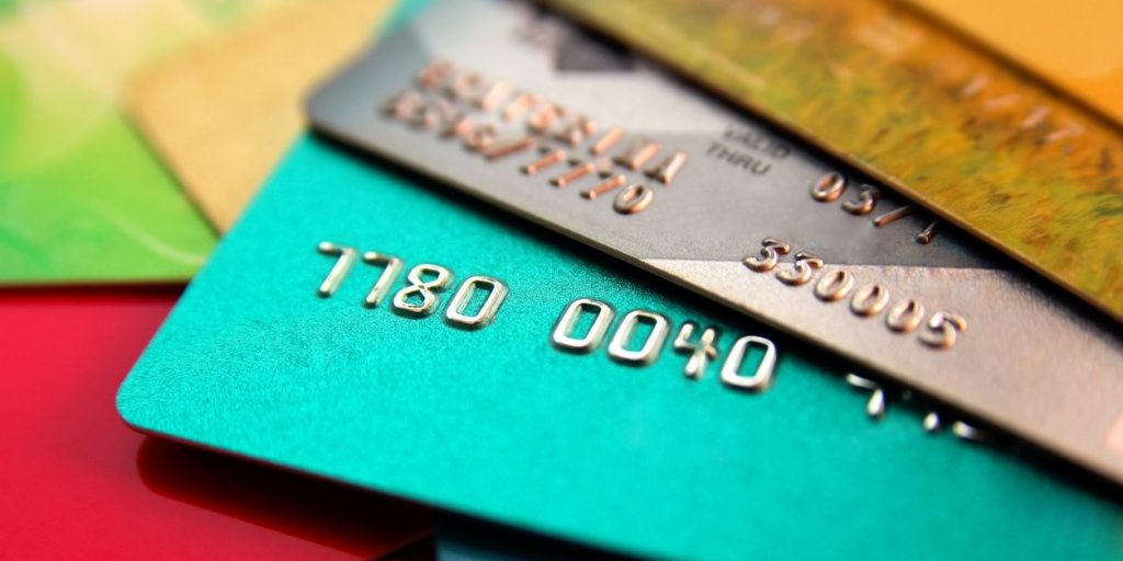 stack of multicolored credit cards, close up view with selective focus. concept: What is Balance Transfer?