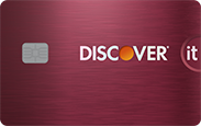 Discover it Cash Back. concept: best cashback credit cards