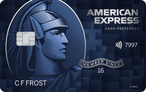 Blue Cash Preferred Card from American Express. concept: best cashback credit cards