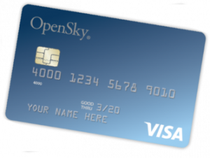 OpenSky Secured Visa Credit Card. concept: Best Credit Cards to Build Credit