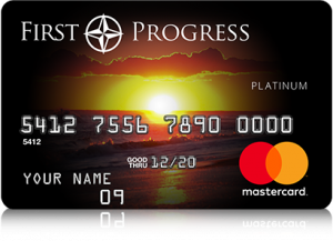 First Progress Platinum Elite Mastercard Secured Credit Card. concept: Best Credit Cards to Build Credit