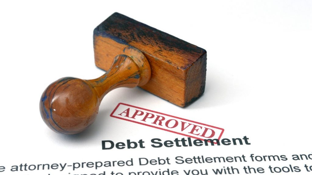 Debt settlement - approved. Concept: debt settlement