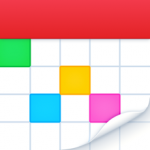 fantastical logo. concept: calendar business apps