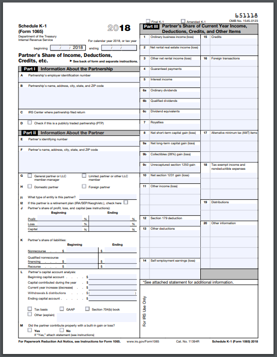 form 1065 schedule k-1  FAQ on Taxes: When Are You Required to File a Schedule K 13 ...