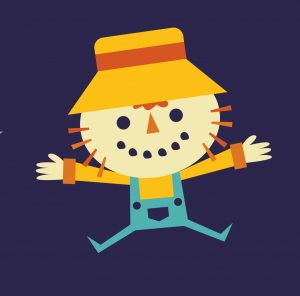 Scarecrow. Concept: successful business owner. Designed by Freepik