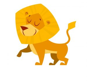 Lion. Concept: successful business owner. Designed by Freepik