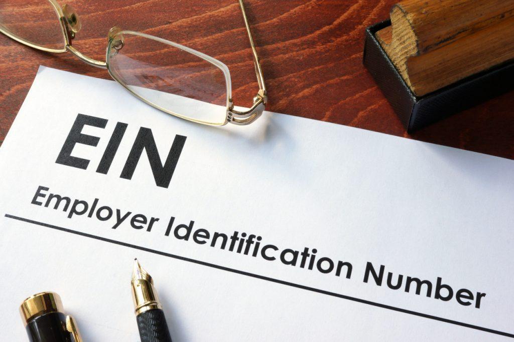 Federal Employer Identification Number (FEIN), Employer Identification Number (EIN). Número de identificación federal del empleador. concept: número EIN