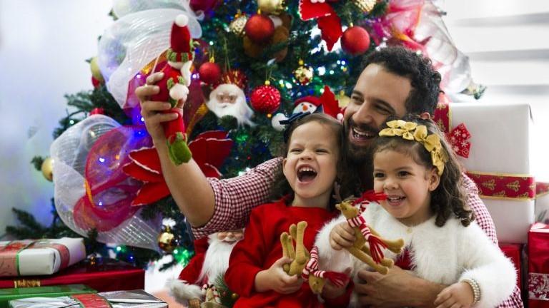 Christmas decorations, holidays, december, family celebrating. concept: marketing ideas