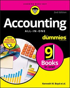 Accounting all-in-one for dummies. Accounting Books