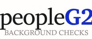 PeopleG2 logo. Background Check Software
