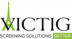 VICTIG Screening Solutions logo. Background Check Software