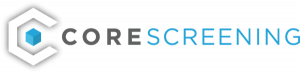 CoreScreening logo. Background Check Software