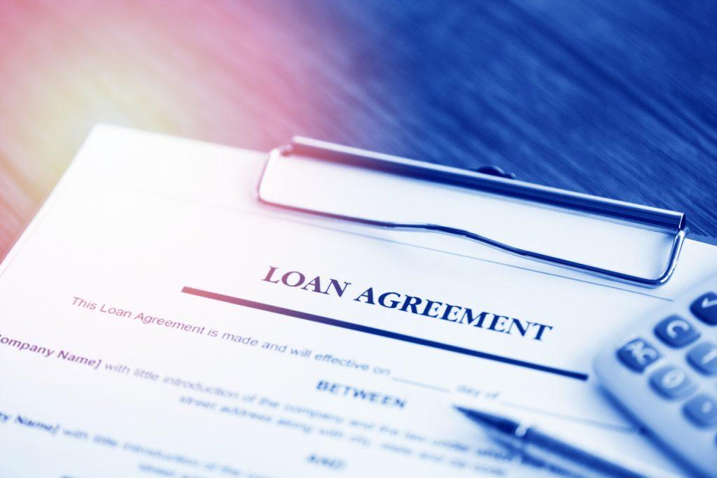 aplicación de préstamo, financiación, crédito, negocios. concept: préstamo comercial