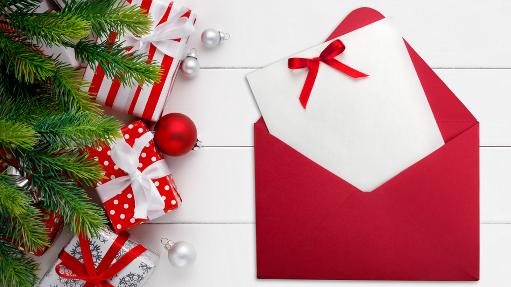 holiday newsletter, concept: marketing ideas