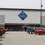 Champaign - Circa August 2019: Sam's Club Warehouse. Sam's Club is a chain of membership only stores owned by Walmart IV. concept: Sam's Club Business Credit