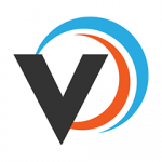 Veeqo logo. concept: inventory apps