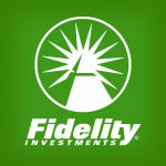 Fidelity Investments logo. concept: investment accounts