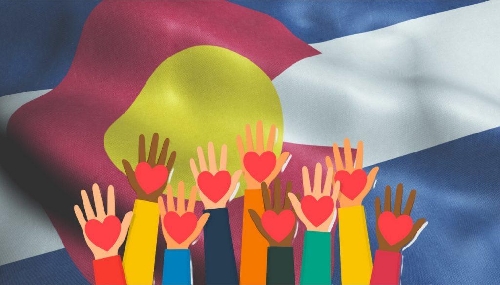 bandera de colorado, organizaciones sin fines de lucro en colorado