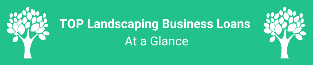 Landscaping Business Loans, camino financial
