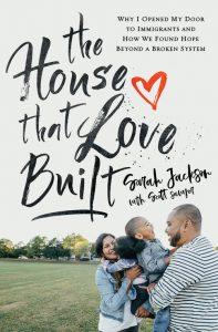 The House that Love Built book cover, nonprofit, concept: casa de paz