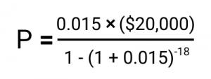 Business Line of Credit Calculator, camino financial