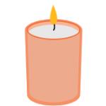 día de muertos, candle