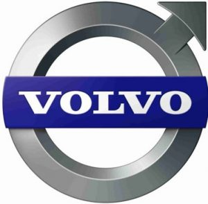 volvo logo. concept: Heavy Equipment Manufacturers. concept: Heavy Equipment Manufacturers