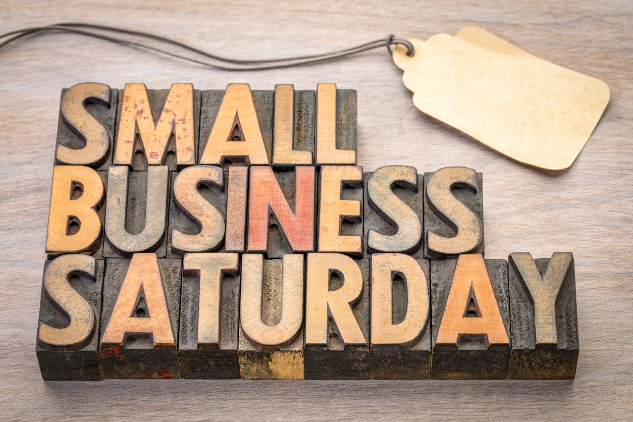 Small Business Saturday can help you improve your sales