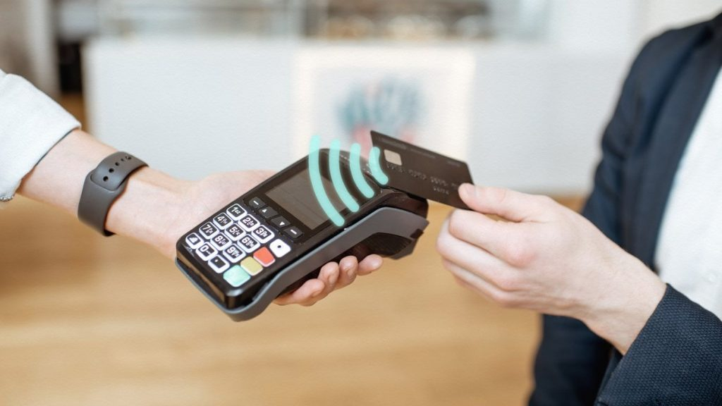 NFC, payment, contactless, concept: business trends